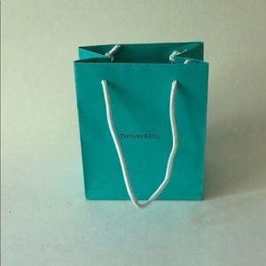 "Tiffany Gift Bag 6"" x 3"""